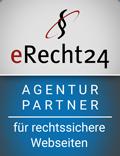 ERecht24 Partner der Webagentur [fleɪk] aus Ulm